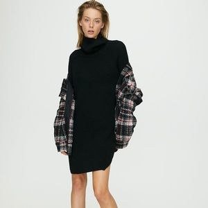Aritzia Wilfred Bianca Sweater dress